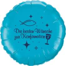 Folienballons - Konfirmation / Kommunion
